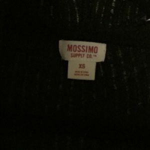 Mossimo Supply Co. Sweaters - Lightweight hooded open cardigan